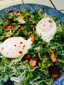 Bacon & Eggs Frise Salad