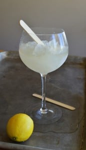 Icy French 75 cooler