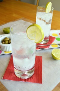 Refreshing and thirst quenching! A Gin Rickey