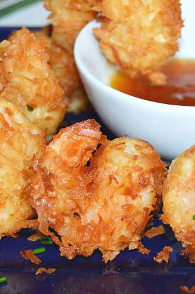 Crunchy, Tasty Simple Coconut Shrimp
