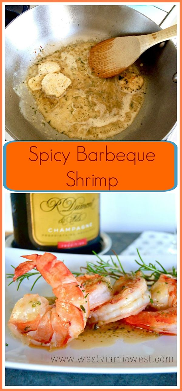 A simple, but impressive recipe that mimic's Ruth's Cris famous Spicy BBQ Shrimp Appetizer. It's full of the flavors of garlic, spices and butter drizzled over the top of succulent shrimp. Recipe found at www/westviamidwest.com