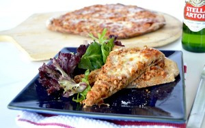 No Fail Rye Flour Pizza crust! Make your own topping pizza's allow for picky palates while the special ingredient in these pizza's crusts make them so much better than your average pizza crust or anything you can get at your local pizzeria~