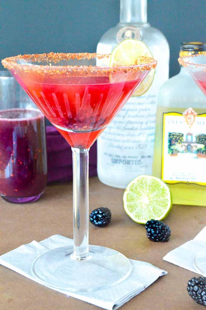 halloween purple cocktail