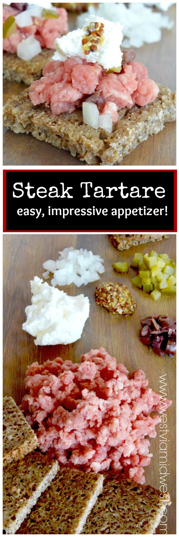 Steak Tartare, one of the easiest recipes you'll ever make. Perfect ...