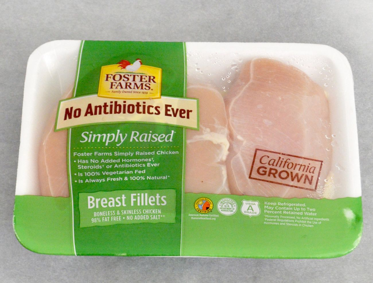 Foster Farms Simply Raised Fresh Chicken