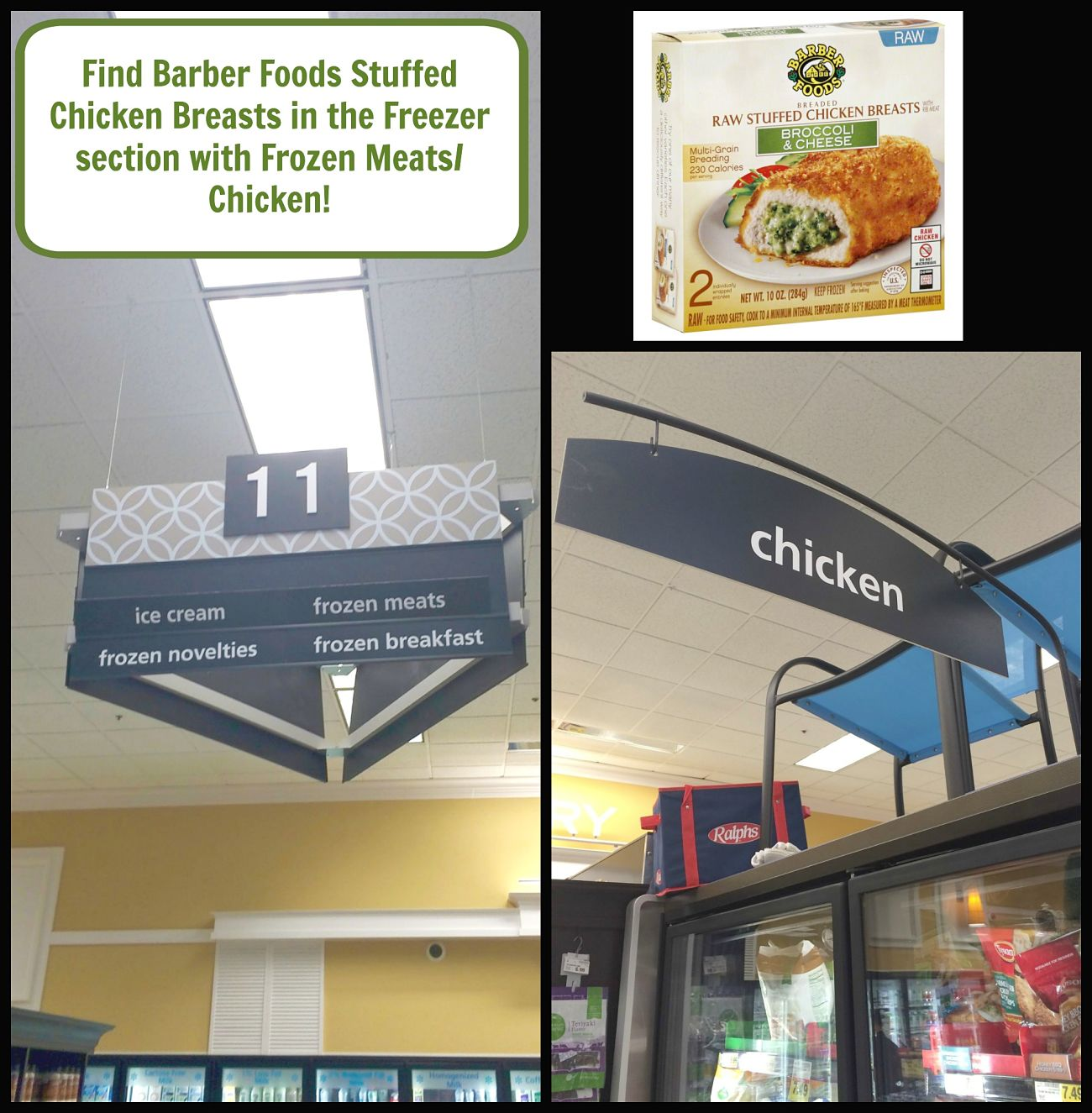 Barber Foods Stuffed Chicken Breast Location in Store