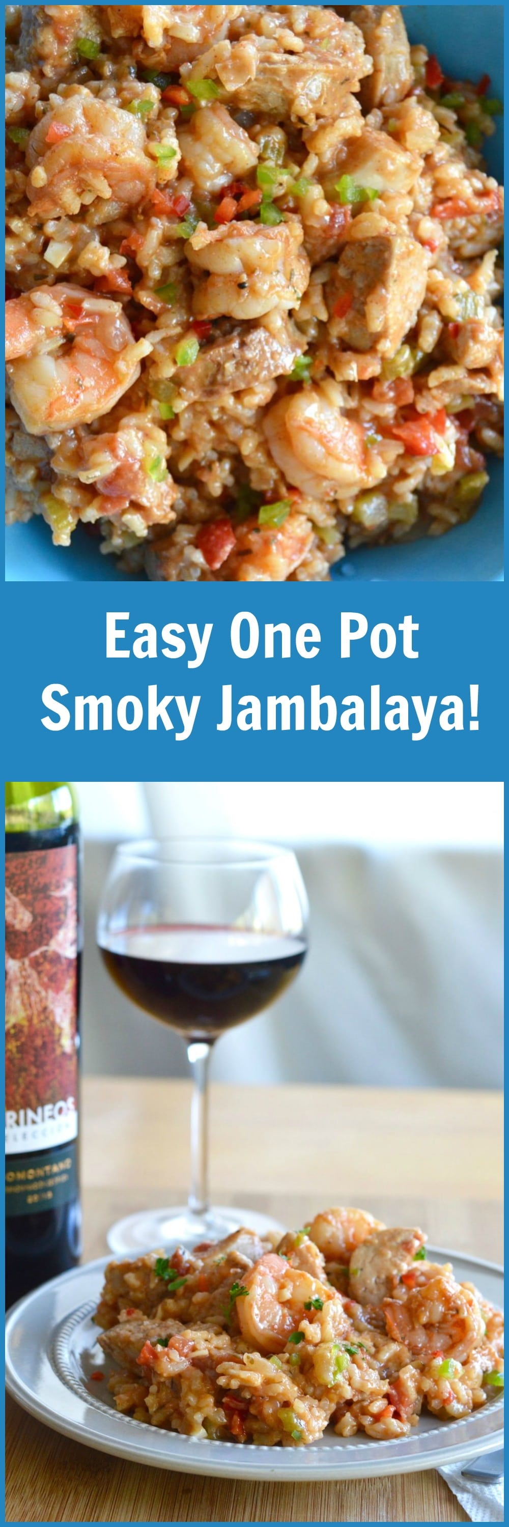 Easy one pot smoky jambalaya west via midwest this one pot smoky jambalaya recipe is great for any get together when you are looking forumfinder Images