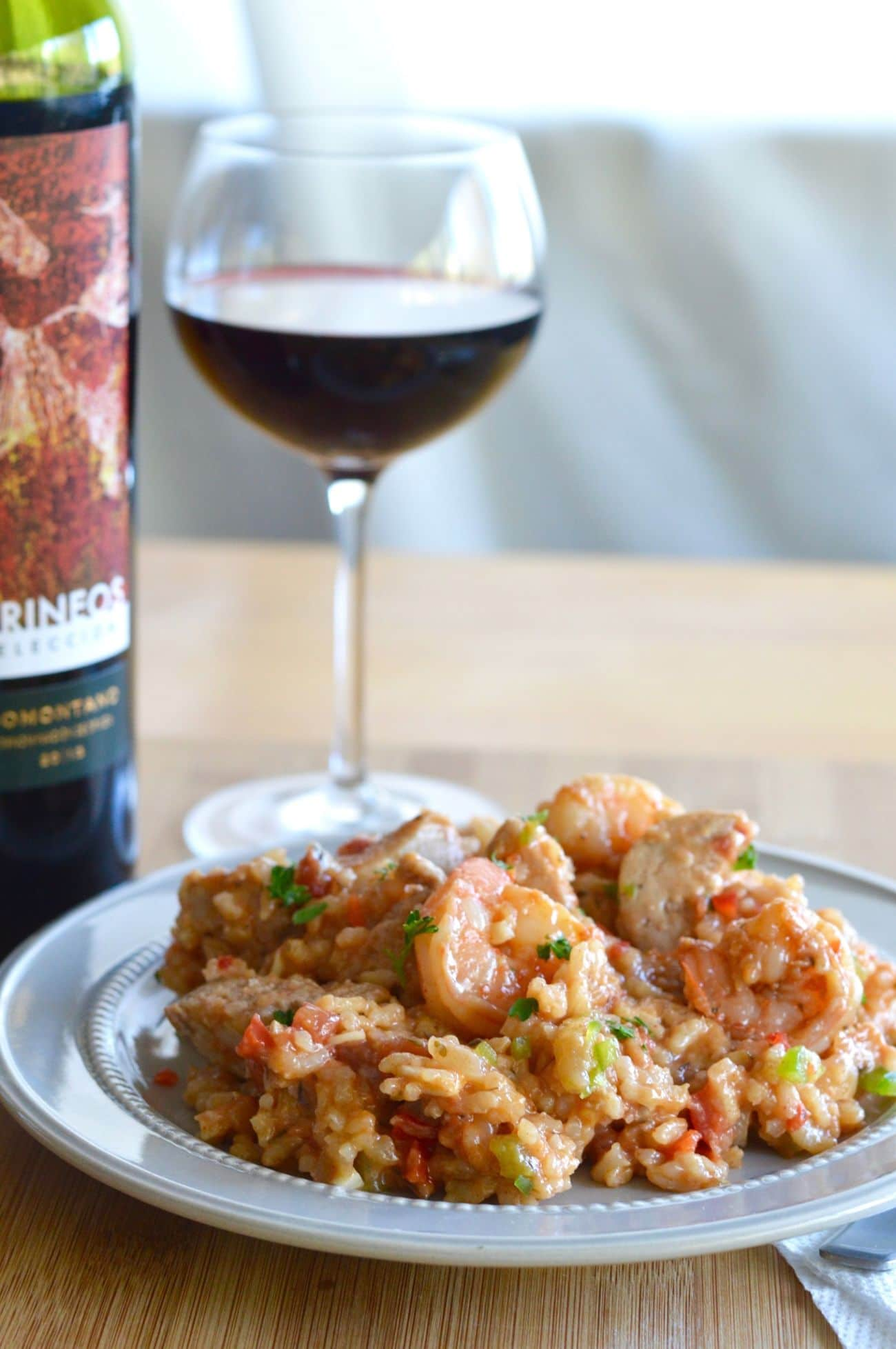 Easy one pot smoky jambalaya west via midwest this one pot smoky jambalaya is great for any get together when you are looking for forumfinder Images
