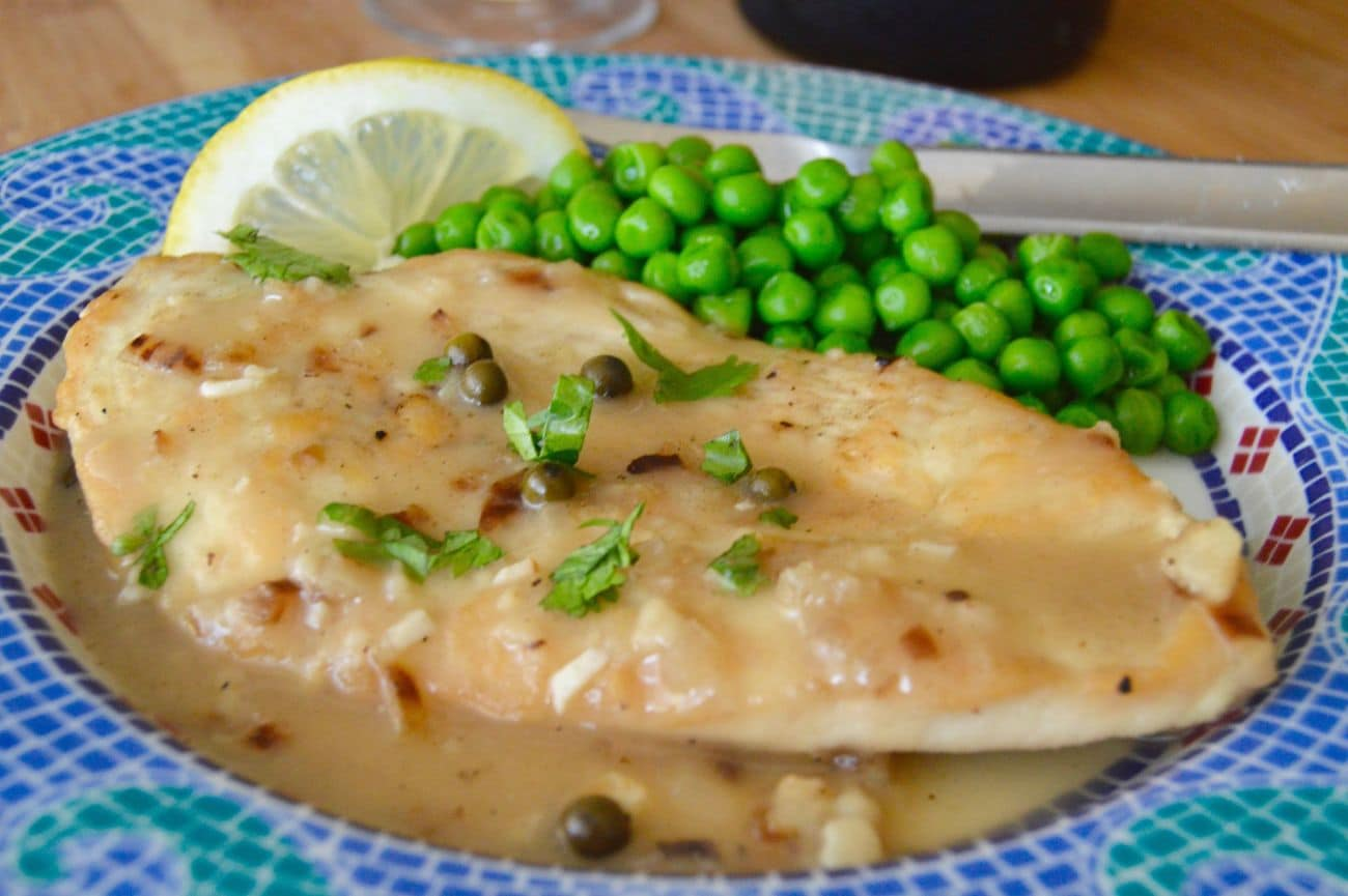 Easy healthy comfort food chicken picatta west via midwest easy healthy comfort food chicken picatta an easy weeknight dinner recipe that you can make in less than 30 minutes perfect for weeknight entertaining forumfinder