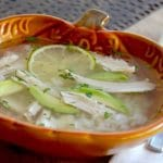 This recipe for Chicken and Rice Soup with Avocado can be made in about 30 minutes and tastes better than anything you can get at a restaurant or out of a can. www.westviamidwest.com