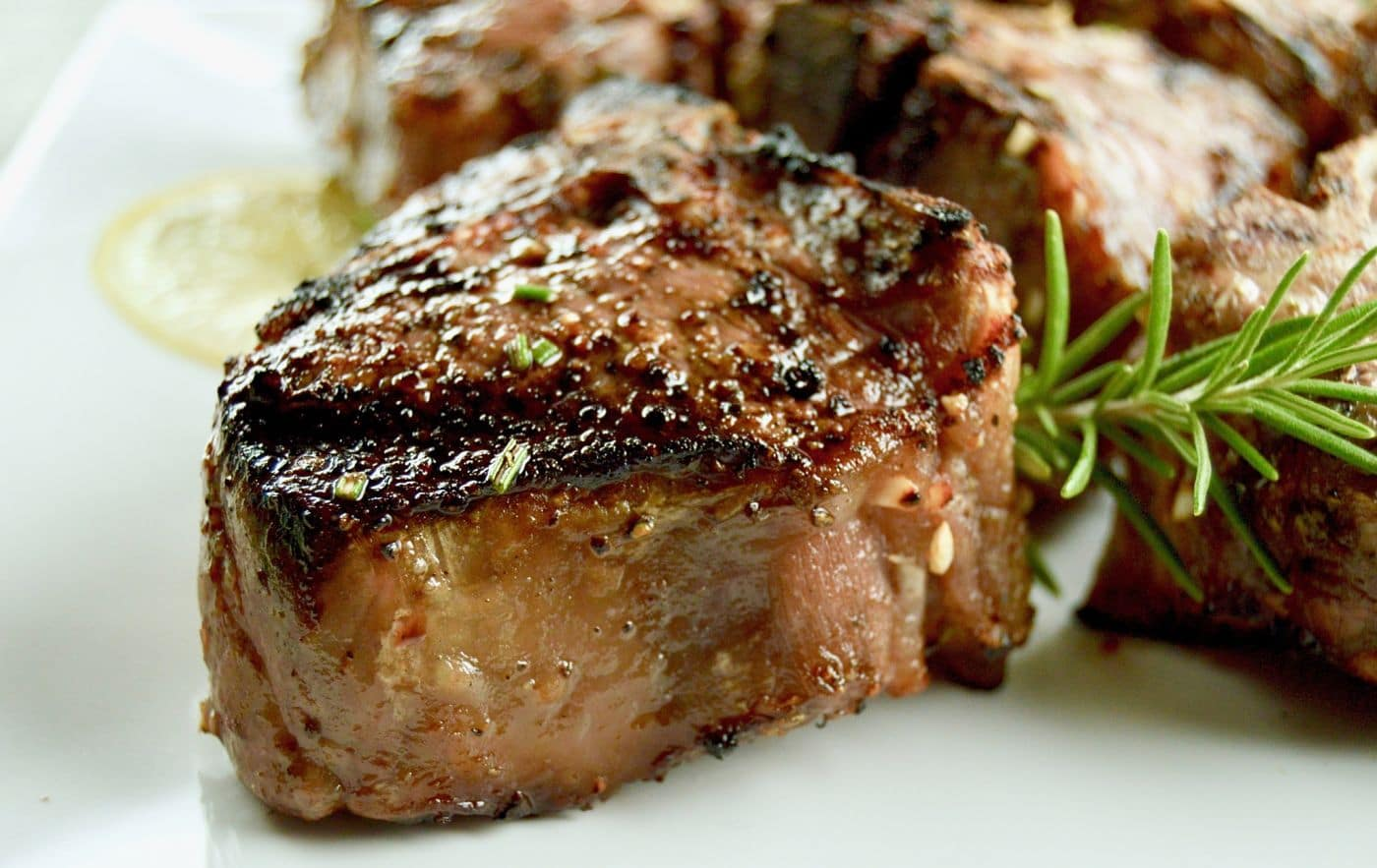 No Fail Grilled Lamb Chops are marinated in rosemary, garlic and citrus for a simple yet elegant meal for entertaining.  Ideal to serve at summer and fall gatherings.