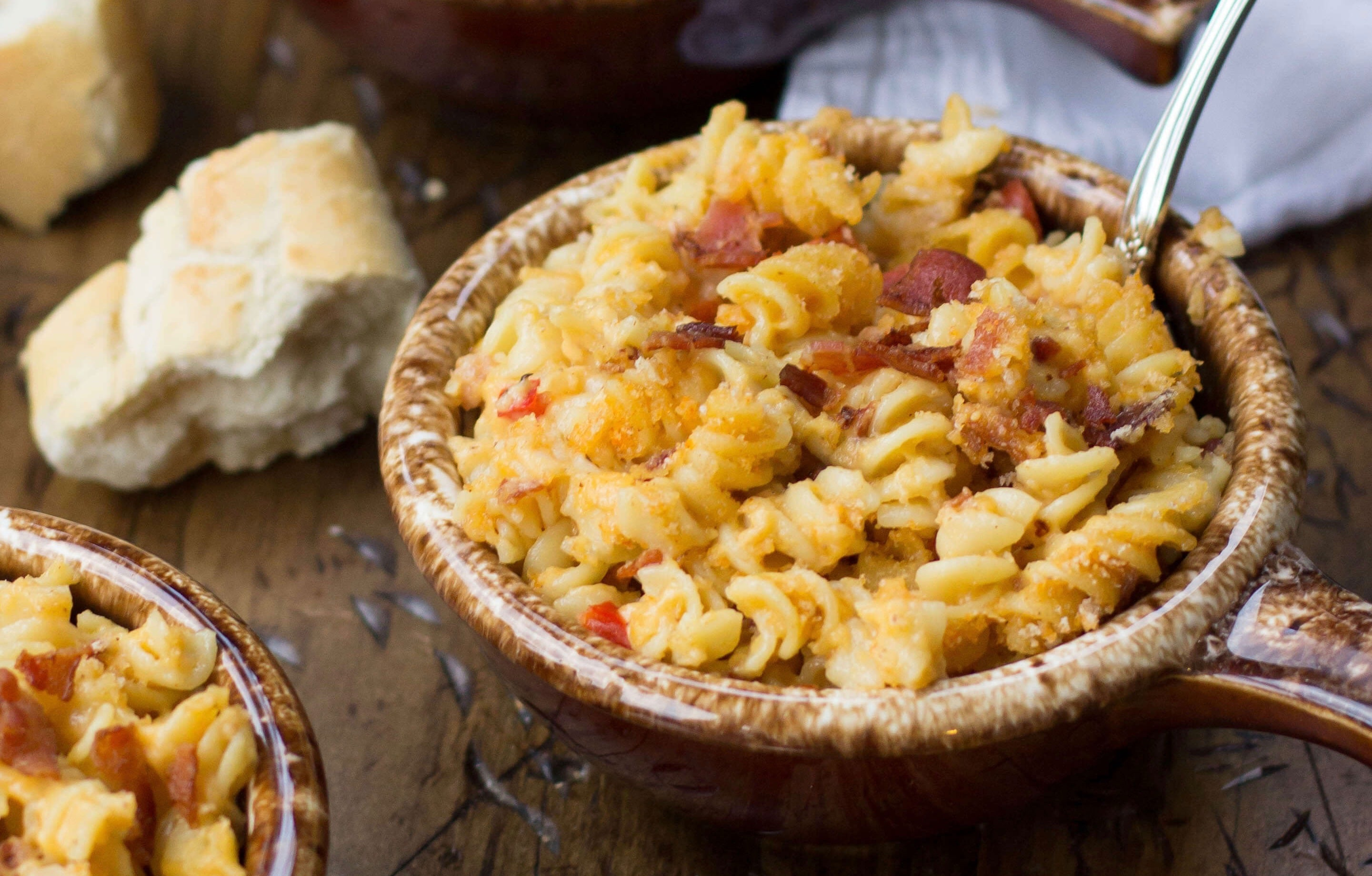 Bacon Mac n Cheese Sugar Spun Run