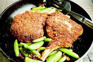 Crunchy Panko breaded Pork chops