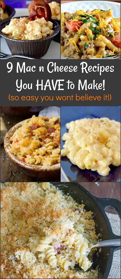 Round Up Pin for Amped up Mac N Cheese