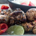 This grilled Moroccan Chicken recipe is a healthy option for grilled chicken, comfort food spices flavor the chicken so you wont even realize how healthy you're eating!