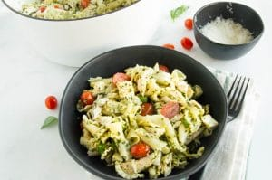 Ready to serve Chicken Pesto Pasta Salad