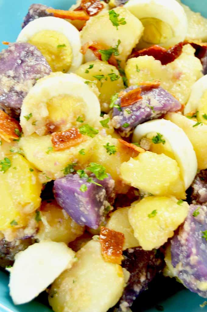 Mayo Free Ceasar Style Potato Salad