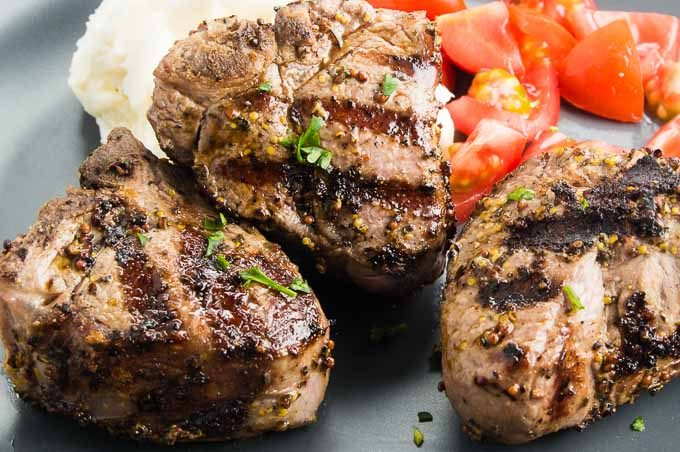 This easy pan sautéed Greek style Lamb Chop recipe comes together in no time. Marinated in Mediterranean herbs and spices and brushed with mustard each little chop is tender, juicy and flavorful.