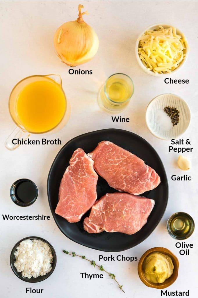 ingredients to make pork chops in one pan
