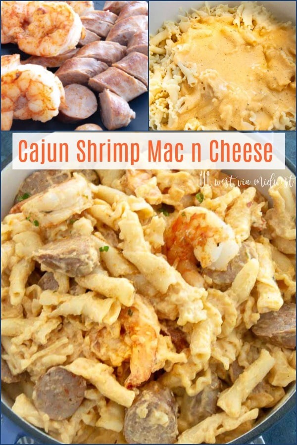 This Cajun Shrimp Mac and Cheese uses all the cajun spices you love in your Mac and cheese sauce that gives loads of added flavor to a comfort food Classic.