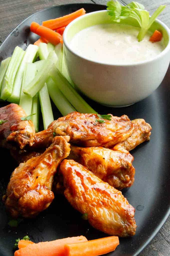Extra Crispy Airfryer Chicken Wings West Via Midwest