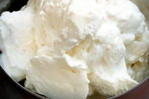 fresh batch of creamy horseradish for corned beef