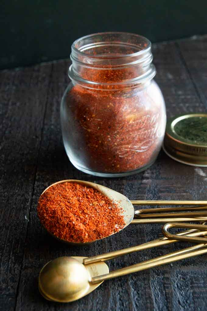 tablespoon full of pork seasoning