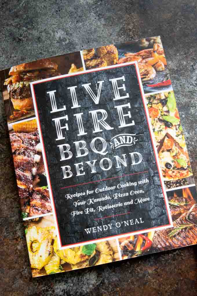 Cover of book Live Fire BBQ & Beyond by Wendy O'neal