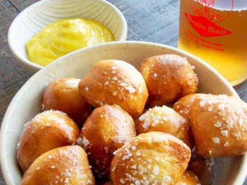 Soft Pretzel Bites: Air Fryer