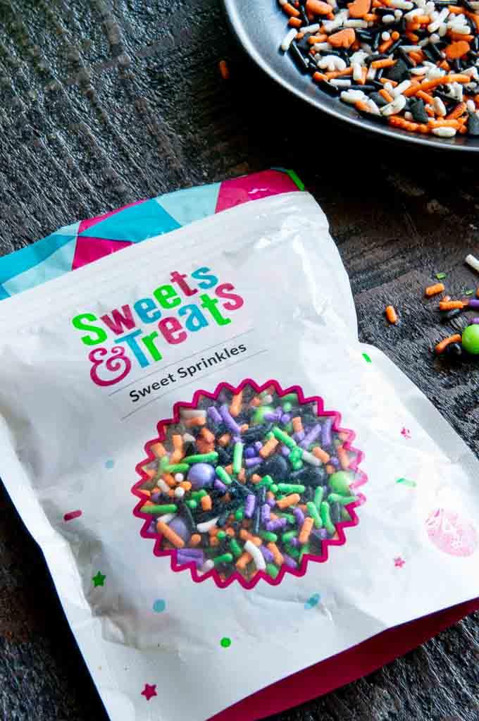 package of sweet treats sprinkles