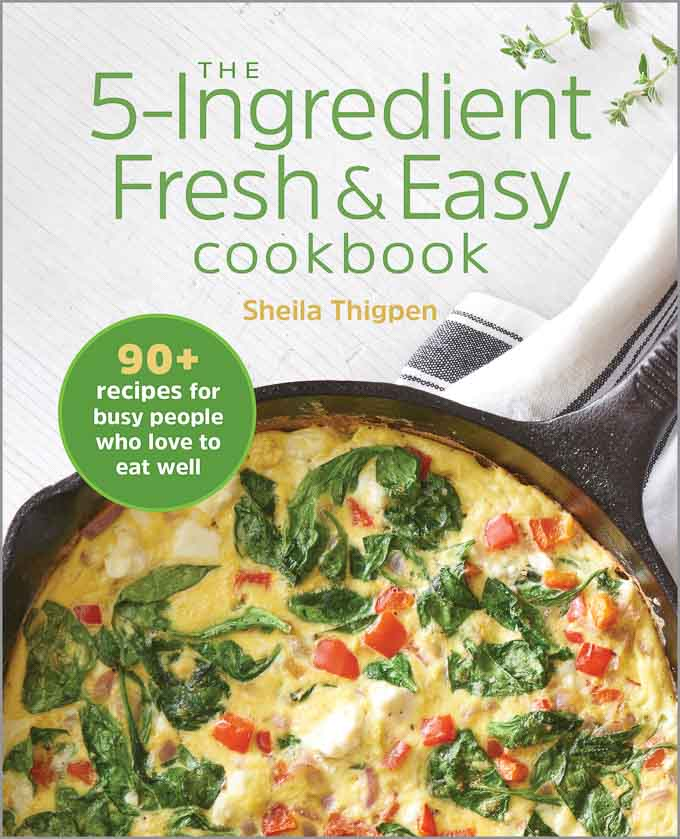 COver of 5 ingredient Fresh and Easy Cookbook