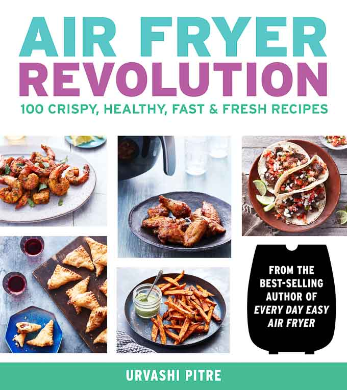 Photo of the cover of the book AIr Fryer Revolution