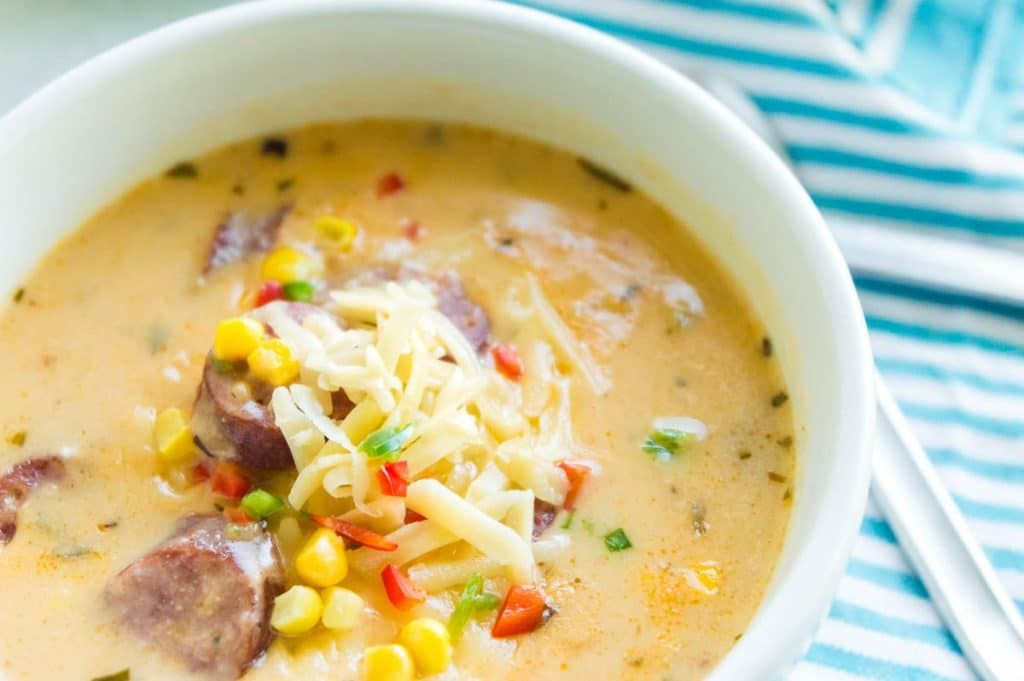 toppings on bratwurst soup
