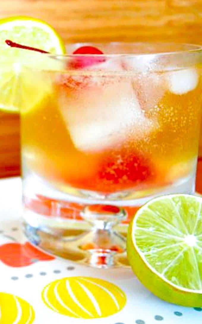 A tasty tropical Cocktail! The original Mai Tai
