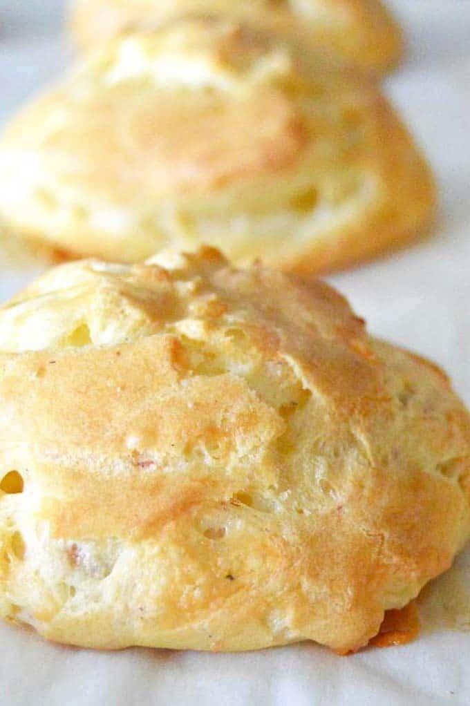 Prosciutto Cheese Puffs