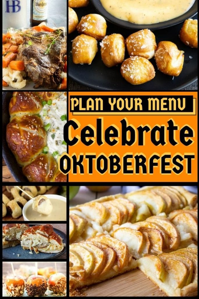 All recipes to make for Octoberfest