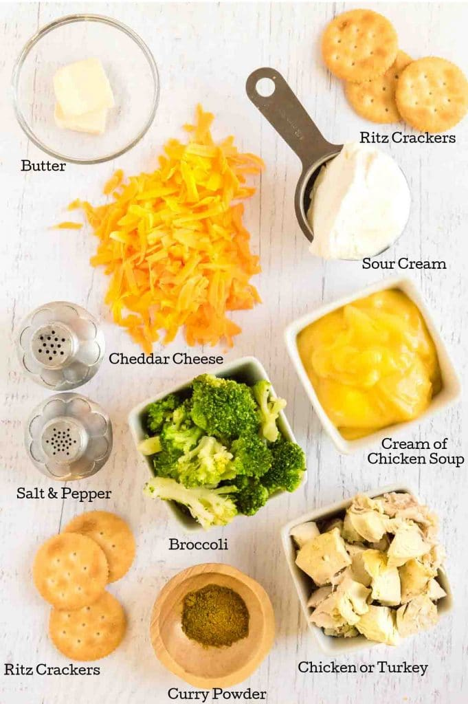 ingredients to make casserole