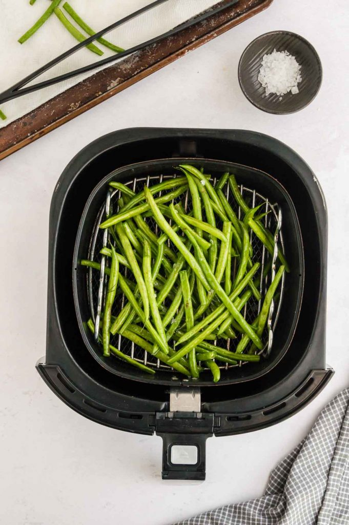 green beans in the air fryer