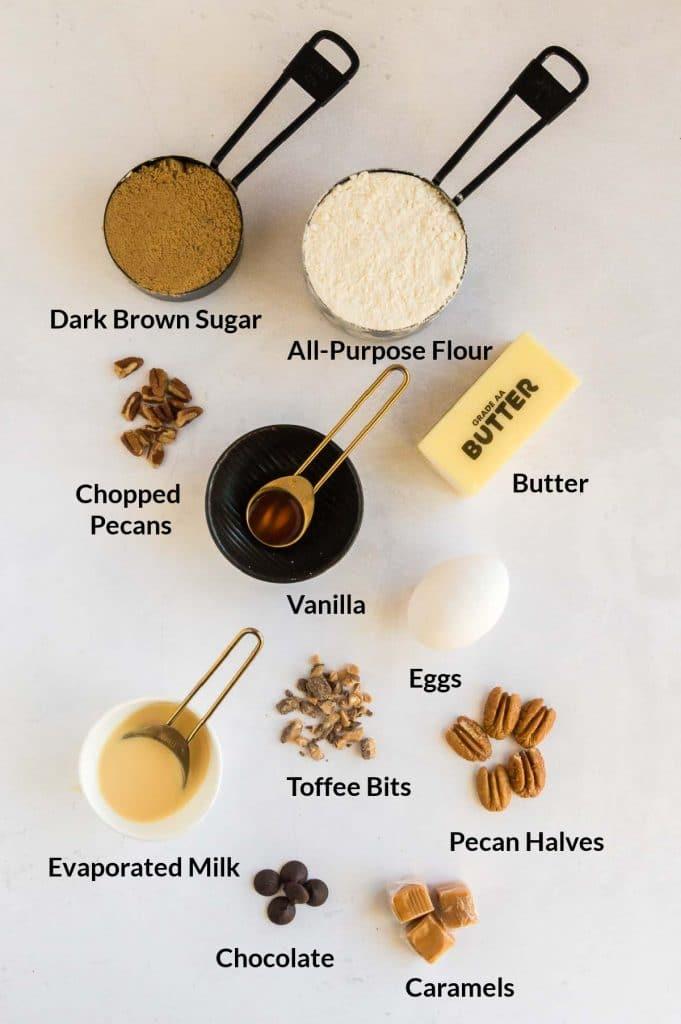 ingredients to make cookie