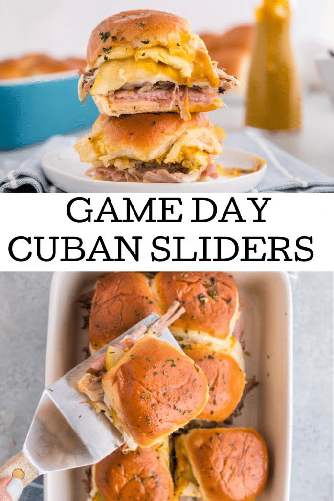 pinterest image of a cubano sandwich