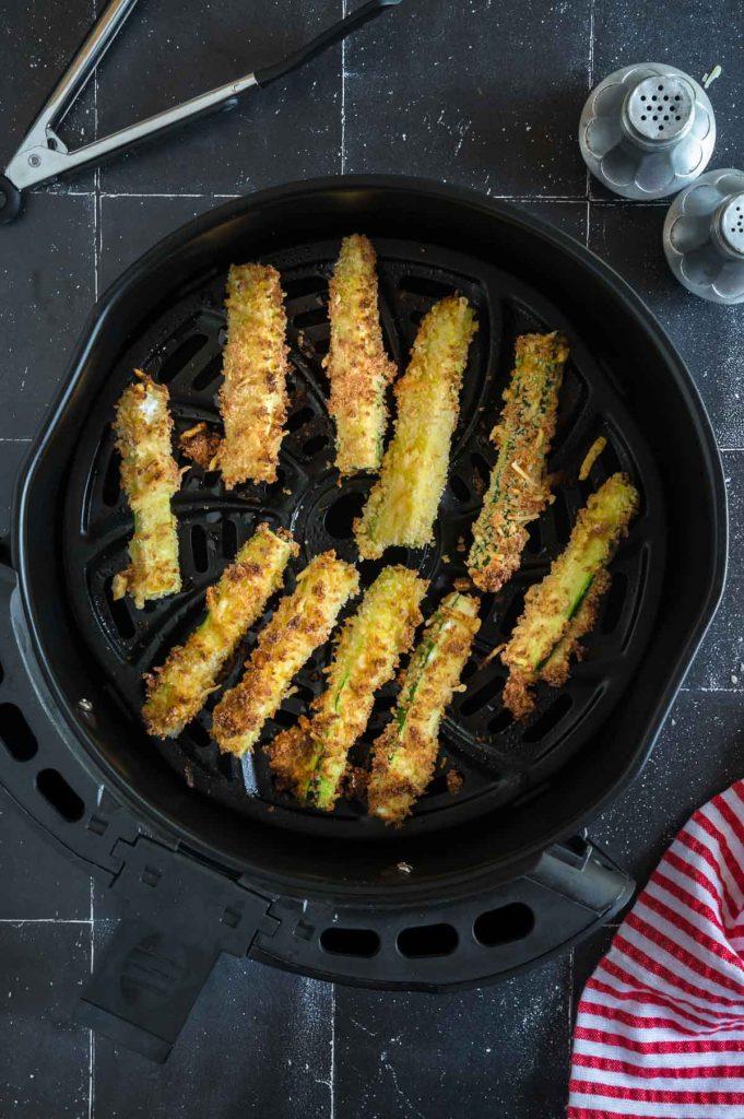 just fried zucchini fries