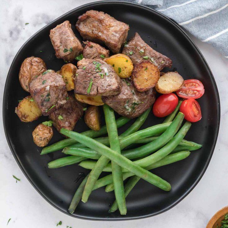 steak and potato bites