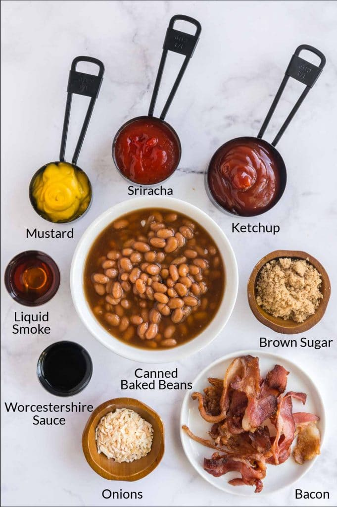 ingredients you'll add to canned beans